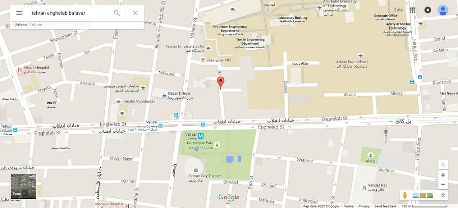 آدرس دفتر مرکزی صبامد - تجهیزات پزشکی نورولوژی و نوروپاتی