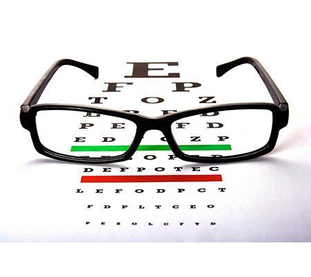انواع تستهای معاینه چشم